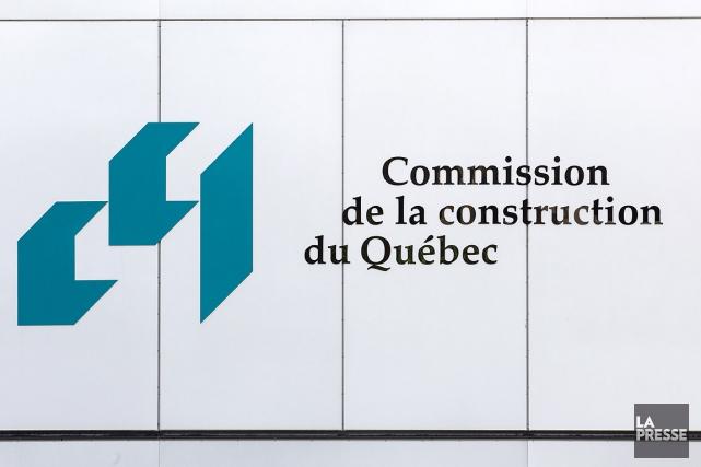 Les locaux de laCommission de la construction du... (Photo Édouard Plante-Fréchette, archives La Presse)
