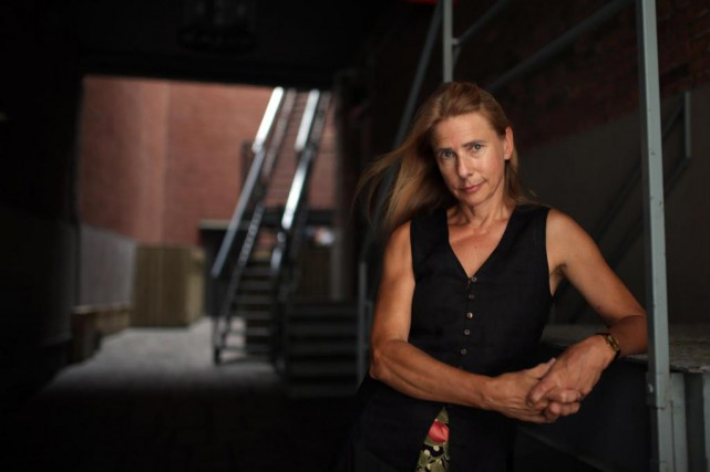 L'auteure Lionel Shriver, que l'on voit ici en 2014,... (Photo Martin Chamberland, archives La Presse)