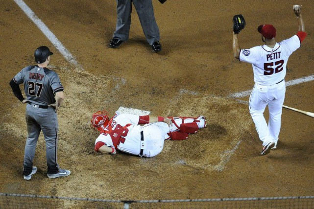 Wilson Ramos (40)... (Photo Brad Mills, USA Today Sports)