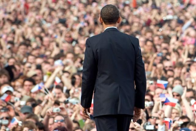 En 2009, Barack Obama avait affirmé à Prague,... (ARCHIVES AFP)