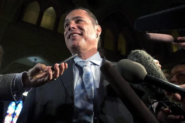 Patrick Brazeau a été acquitté des accusations de... (Archives, La Presse Canadienne)