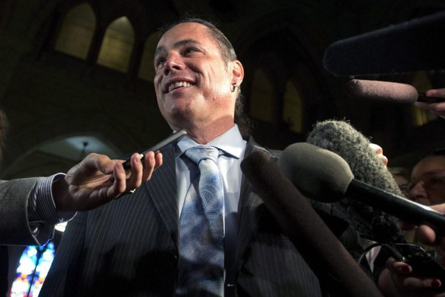 Patrick Brazeau... (Photo Justin Tang, La Presse Canadienne)