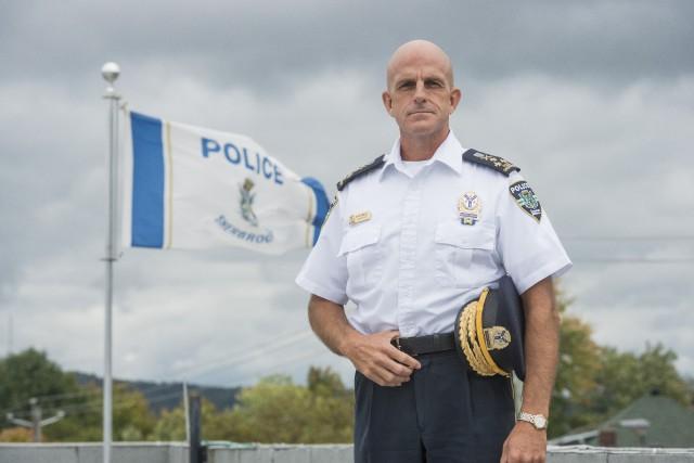 Le nouveau directeur de police de Sherbrooke, Danny...