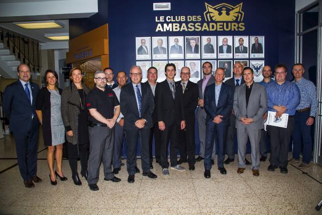 Le Club des ambassadeurs du Phoenix de Sherbrooke... (Photo fournie)