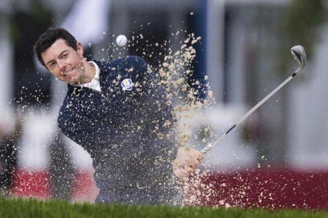 Rory McIlroy n'est pas trop déçu de ne... (AFP, Jim Watson)
