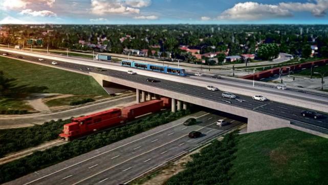Le Réseau électrique métropolitain est un grand projet... (Photo fournie par CDPQ Infra)