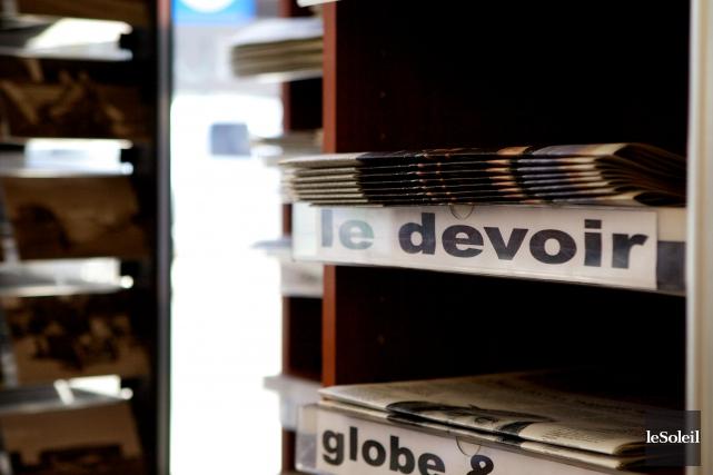En plein virage numérique,Le Devoiraffirme que la «croissance... (Photothèque Le Soleil)