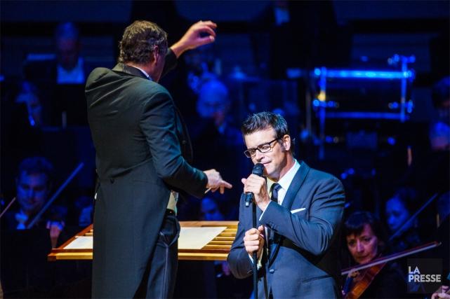Roch Voisine sera de retourà la Maison symphonique,ce... (Photo Olivier Jean, La Presse)