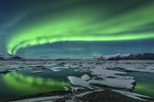 Des aurores boréales en Islande.... (Photo Getty Images/iStockphot)