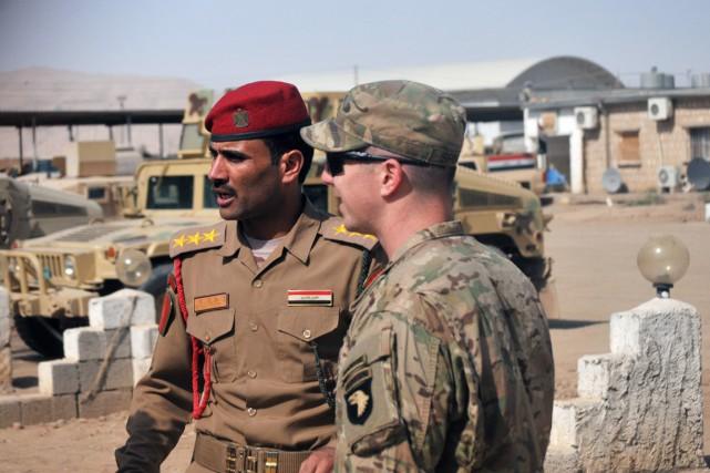 Quelque 4600 militaires américains sont actuellement déployés en... (photo Lt. Daniel Johnson, archives armée américaine/AP)