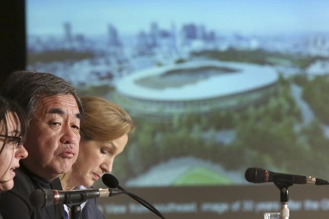 Tokyo a remporté la mise en 2013 en... (Photo Eugene Hoshiko, archives AP)