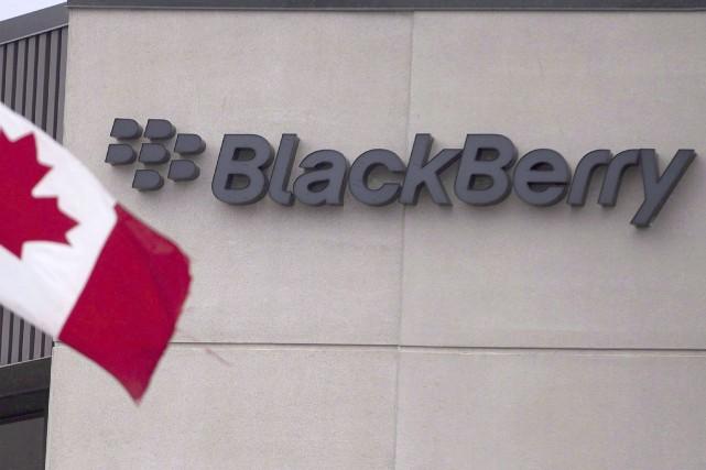 Les siège social de BlackBerry est situé àWaterloo,... (La Presse canadienne)