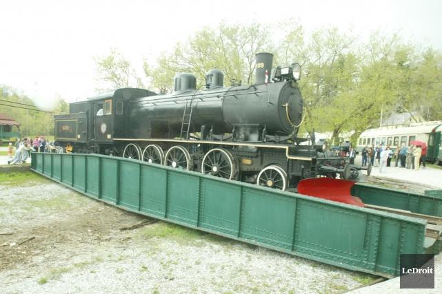 Le train à vapeur prendra la direction de... (Archives LeDroit)