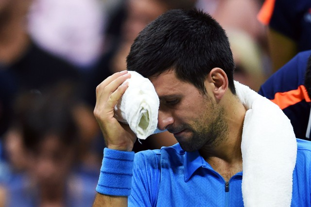 Novak Djokovic... (Photo Jewel Samad, AFP)