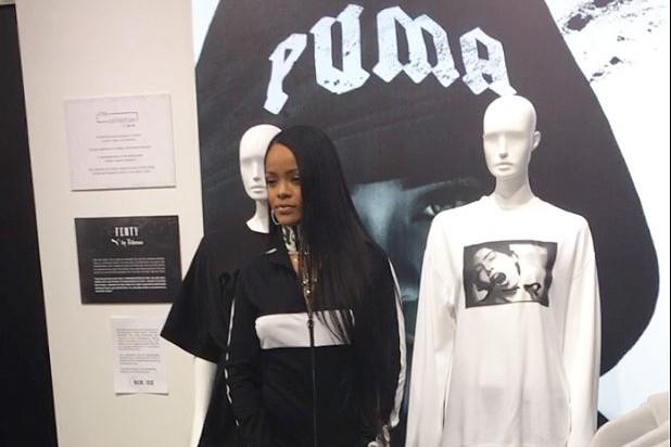 La chanteuse Rihanna doit présenter mercredi soir pendant la Fashion week de... (PHOTO AP)