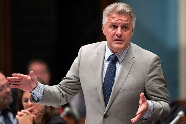 Le ministre Laurent Lessard a encore dû s'expliquer... (Archives La Presse canadienne)