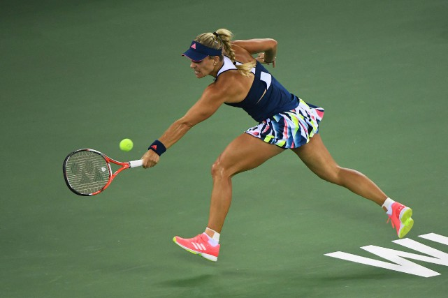 Angelique Kerber... (Photo Greg Baker, AFP)