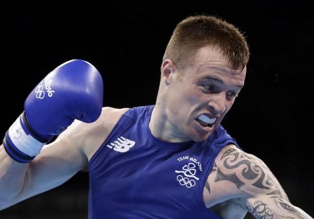 L'Irlandais Steve Donnelly a parié contre lui pour... (AP, Frank Franklin II)