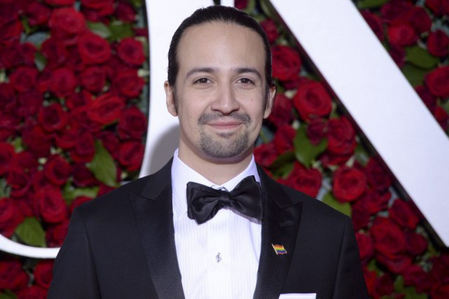 Lin-Manuel Miranda... (PHOTO ARCHIVES AP)