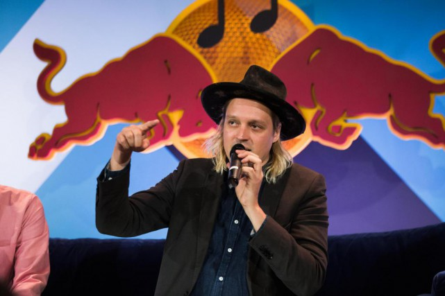 Le chanteur d'Arcade Fire, Win Butler, a donné... (Photo Dan Wilton, fournie par Red Bull Content Pool)