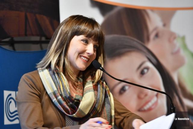 La directrice générale de Boréalis Valérie Bourgeois a... (Stéphane Lessard, Le Nouvelliste)