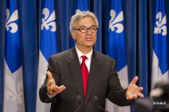 Laurent Lessard n'était pas à l'Assemblée nationale mercredi.... (Photothèque Le Soleil)