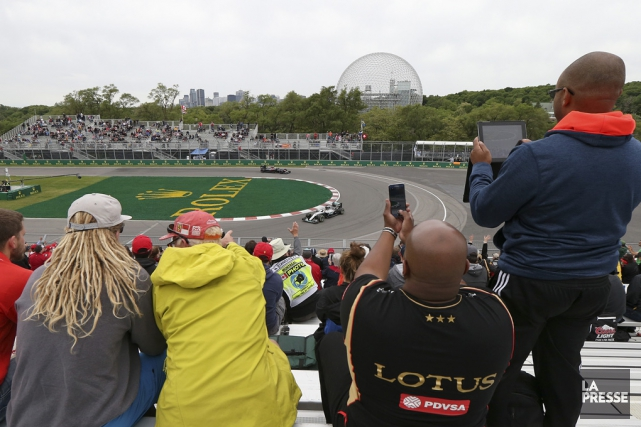 L'avenir du Grand Prix du Canada demeure incertain... (Archives La Presse)