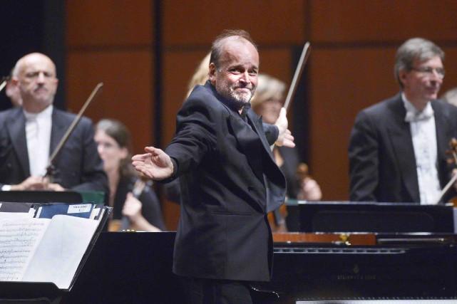 Le chef et pianiste Louis Lortie était à... (Le Soleil, Jean-Marie Villeneuve)
