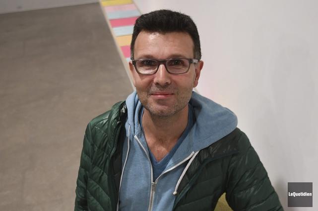 Jean-Paul Quéinnec, directeur de la Chaire de recherche... (Photo Le Quotidien, Rocket Lavoie)