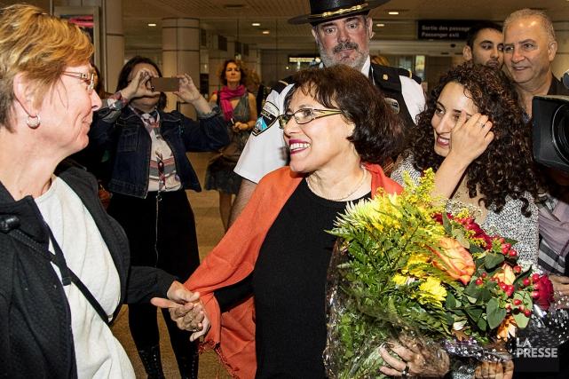 La professeure à la retraite canado-iranienne Homa Hoodfar... (PHOTO ALAIN ROBERGE, LA PRESSE)