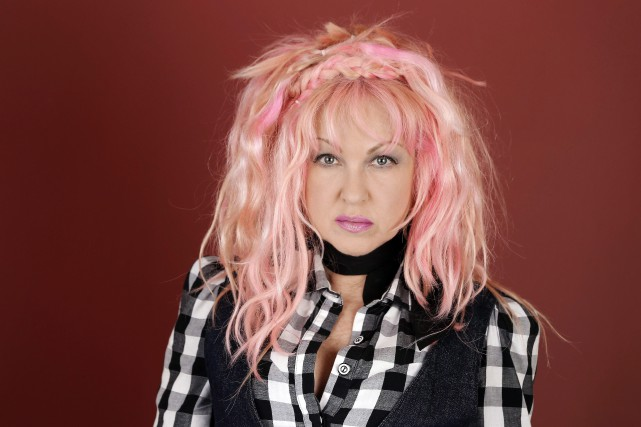 Cyndi Lauper... (Photo PC)