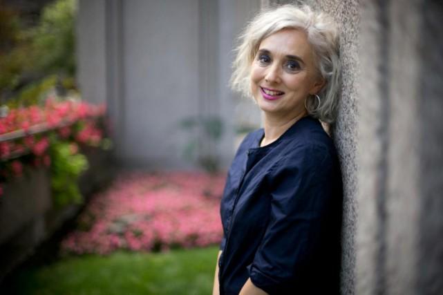 Catherine Mavrikakis a voulu écrire un roman très... (Photo David Boily, La Presse)