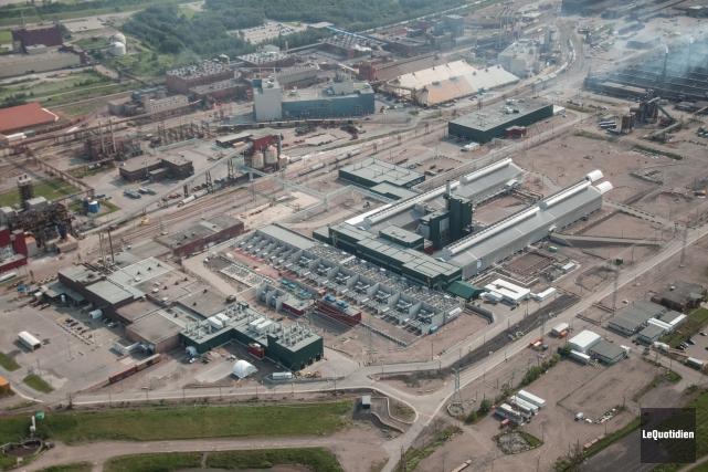 L'Association de l'aluminium du Canada dénonce la surcapacité... (Photo archives Le Quotidien, Michel Tremblay)