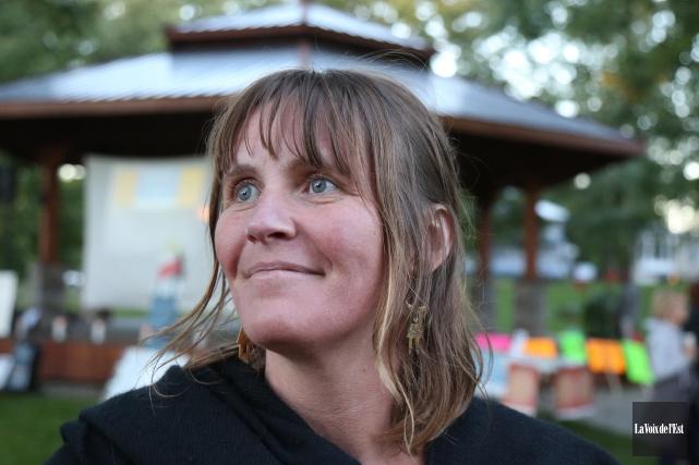 Sophie Labrie, duCentre d'aide et de lutte contre... (Julie Catudal, archives La Voix de l'Est)