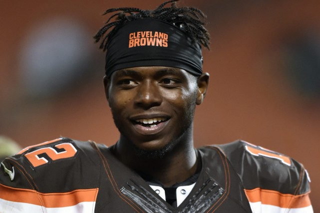 Josh Gordon... (PHOTO David Richard, archives AP)