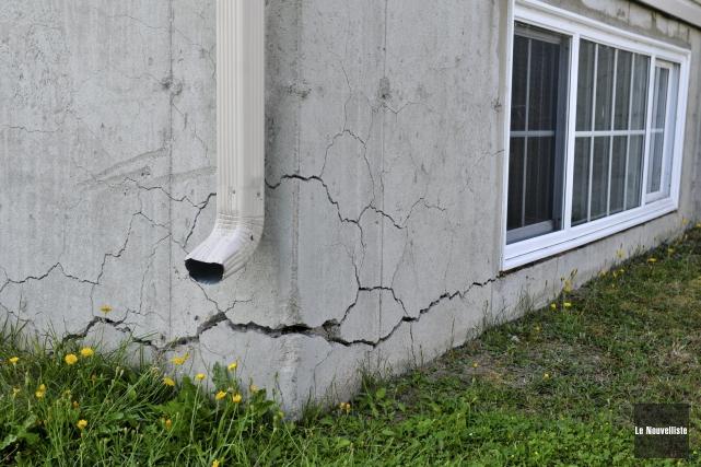 Une maison victime de pyrrhotite.... (Archives Le Nouvelliste)