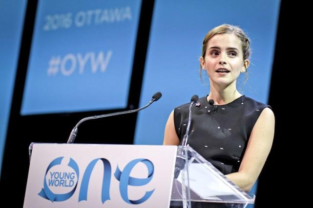 L'actrice Emma Watson compte parmi celles qui ont... (Patrick Woodbury, LeDroit)