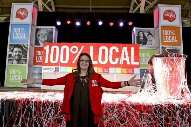 Kathleen Kemp, porte-parole de la campagne de financement... (Patrick Woodbury, LeDroit)