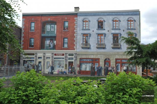 Destination Sherbrooke investit un peu moins de 25... (Archives, La Tribune)