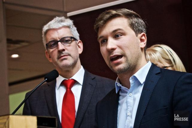 Cette semaine, Jean-Martin Aussant et Gabriel Nadeau-Duboisont annoncé... (André Pichette, Archives La Presse)