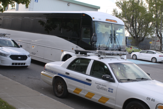 La Sûreté de Québec a utilisé cette semaine... (Fournie par la Sûreté du Québec)