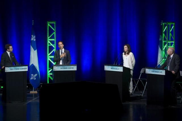 La course à la direction du Parti québécois (PQ) semble susciter un peu plus... (Archives, La Presse)