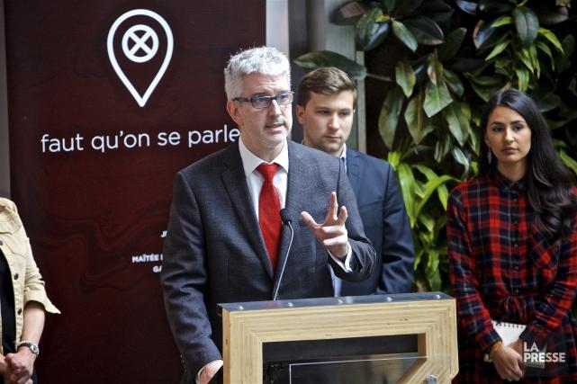 La tournée de consultation initiée par Jean-Martin Aussant,... (La Presse)