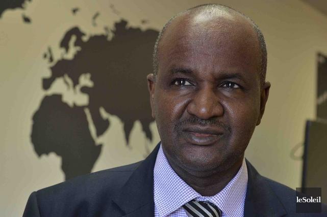 Ousmane Oumarou Sidibé, membre de la Commission malienne... (Le Soleil, Patrice Laroche)