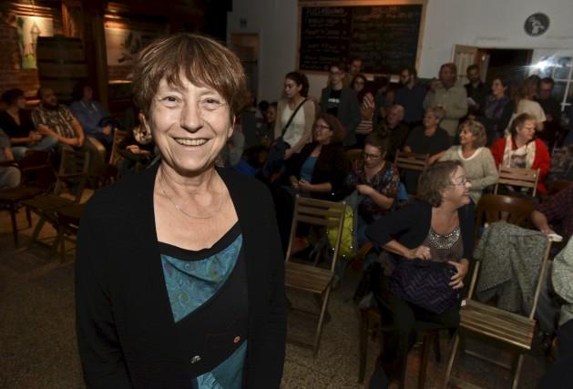 La co-porte-parole et députée de Québec solidaire, Françoise... (François Gervais)