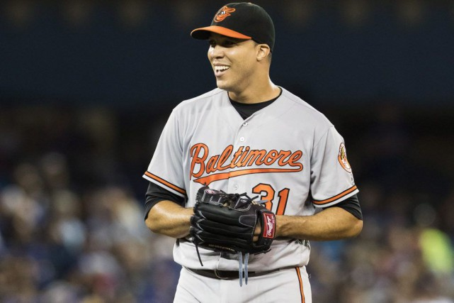 Ubaldo Jimenez... (PHOTO Mark Blinch, PC)