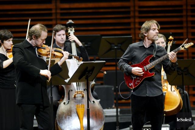 CRITIQUE / Les Violons du Roy ont offert jeudi un concert complètement... (Le Soleil, Jean-Marie Villeneuve)