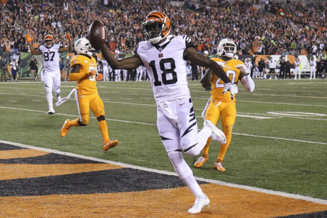 A.J. Green... (PHOTO Gary Landers, AP)