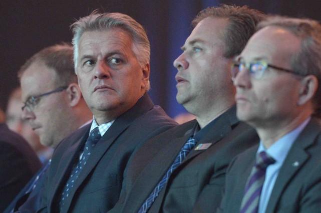 Laurent Lessard, qui était au Congrès de la... (Le Soleil, Yan Doublet)