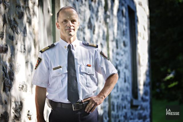 François Massé est directeur du Service de sécurité... (PHOTO PATRICK SANFAÇON, LA PRESSE)